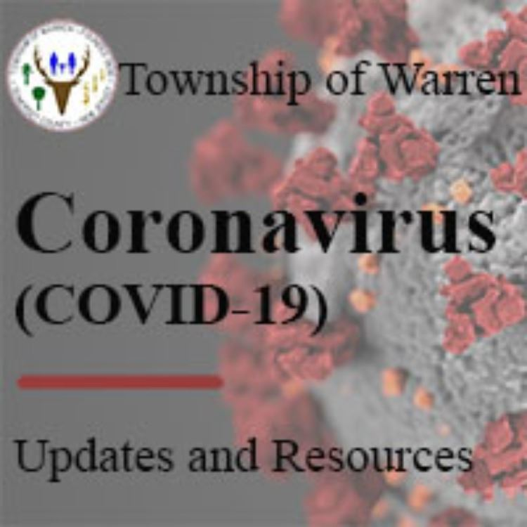 Warren Township Coronavirus Square Logo Social Media
