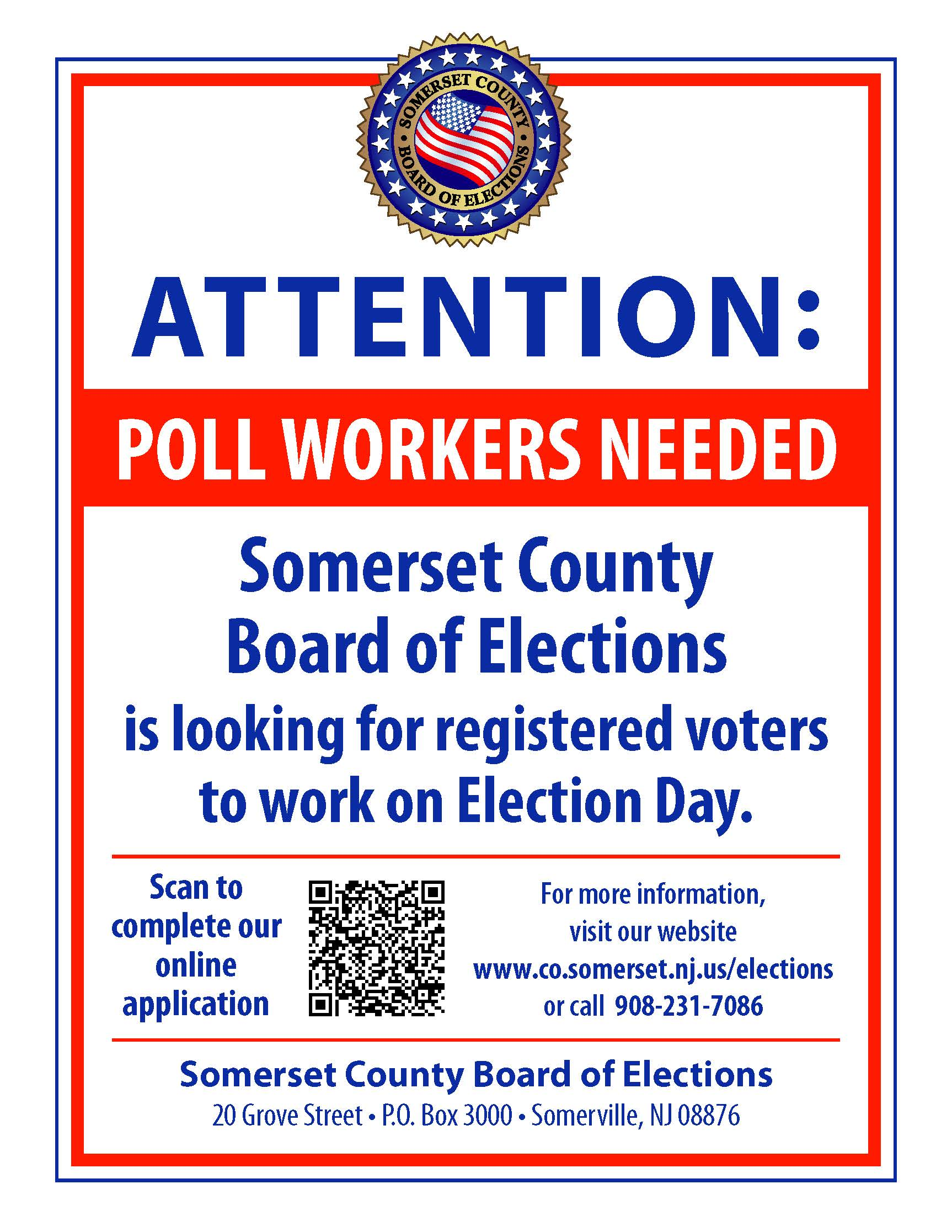 ATTN_PollWorkersNeeded8.5x11_2019 with QR